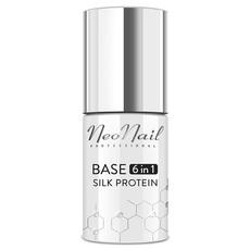 Базовое покрытие Base 6 in1 Silk Protein NeoNail. 7.2 мл