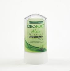 Дезодорант-Кристалл с соком АЛОЭ. стик зеленый. 60 гр.