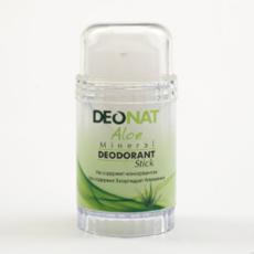 Дезодорант-Кристалл с натуральным  экстрактом АЛОЭ и глицерином.  стик вывинчивающийся (twist-up). 80 гр.