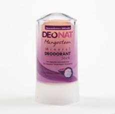 Дезодорант-Кристалл с соком МАНГОСТИНА. розовый стик . 60 гр.