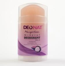 Дезодорант-Кристалл с соком МАНГОСТИНА. розовый стик. вывинчивающийся (twist-up). 100 гр.