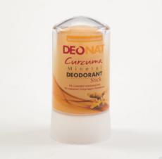Дезодорант-Кристалл с КУРКУМОЙ  . желтый стик . 60 гр.